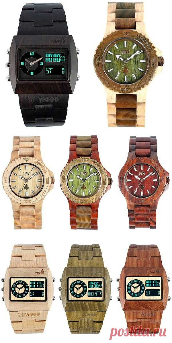 Деревянные часы / Вещь / Модный сайт о стильной переделке одежды и интерьера