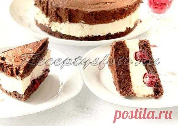 Шоколадный торт «Лувр»