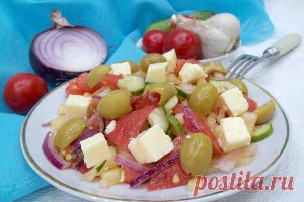 Греческий салат | CityWomanCafe.com