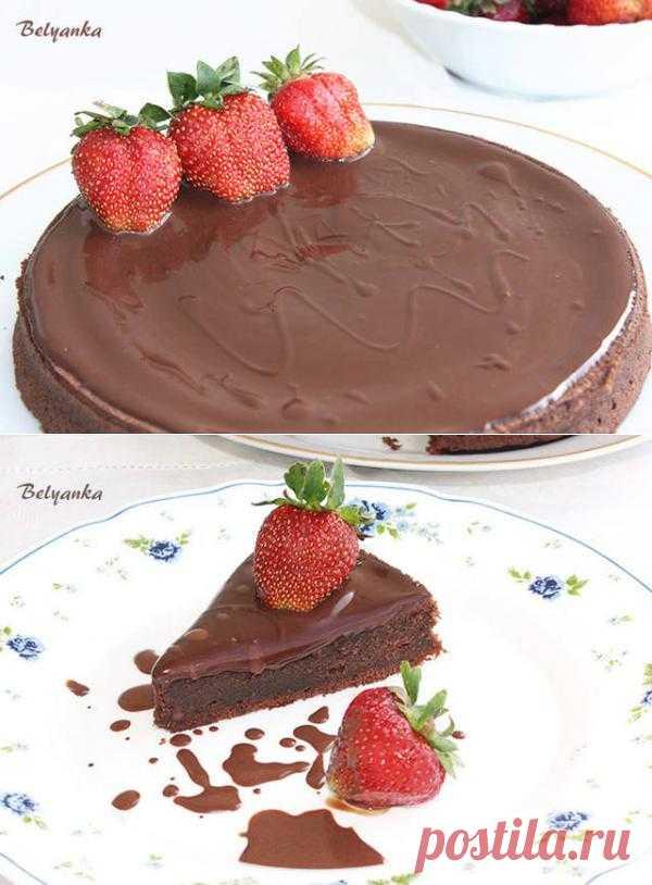 Вкусные и простые рецепты: Шоколадный кекс-пудинг. Автор: Yulya