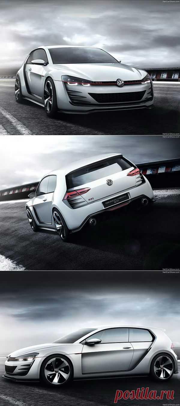 Volkswagen Design Vision GTI Concept (2013)