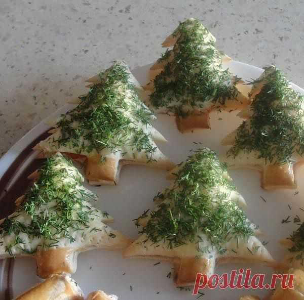 New Year's tartlets with caviar and red fish - Kulinarnyj-Recept. ��