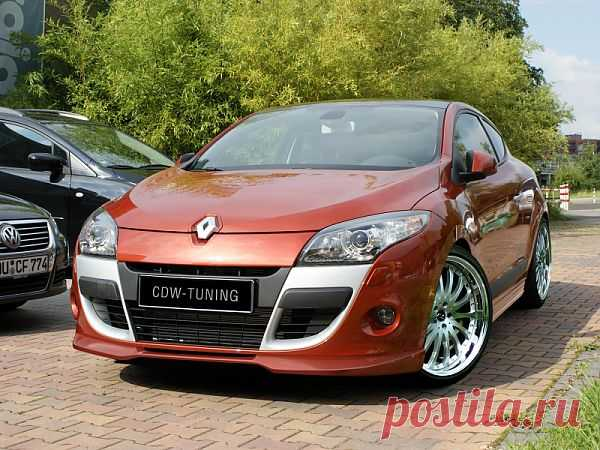 Renault Megane 3 Coupé CDW-Tuning.