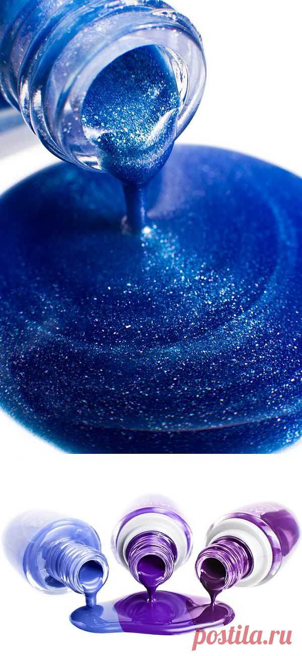 Оттенки синего