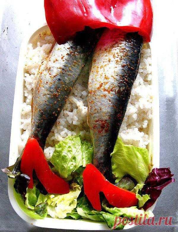 Креативный дизайн блюд