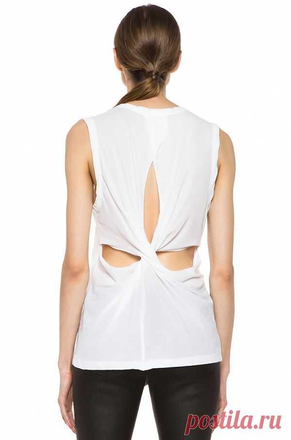 Интересная спинка / Декор спины / Модный сайт о стильной переделке одежды и интерьера