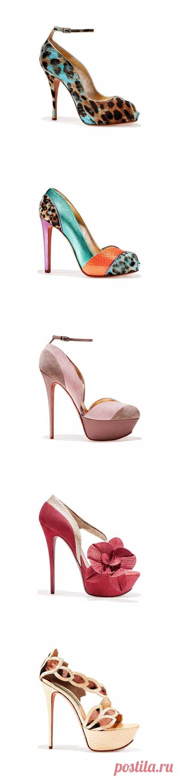 El calzado a la moda de Gaetano Perrone de la temporada la primavera-verano 2013