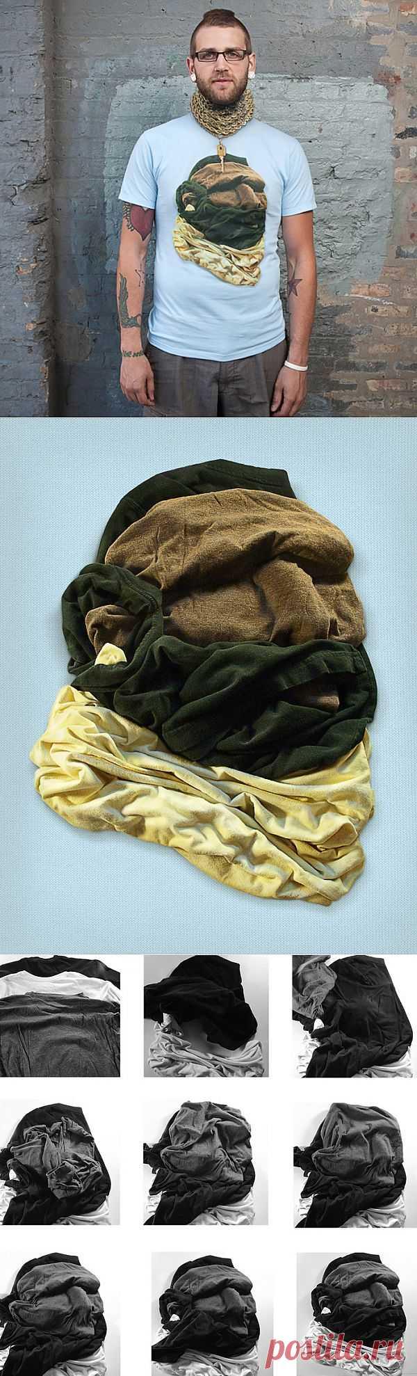 Необычный принт на майке (Diy) / Футболки DIY / Модный сайт о стильной переделке одежды и интерьера