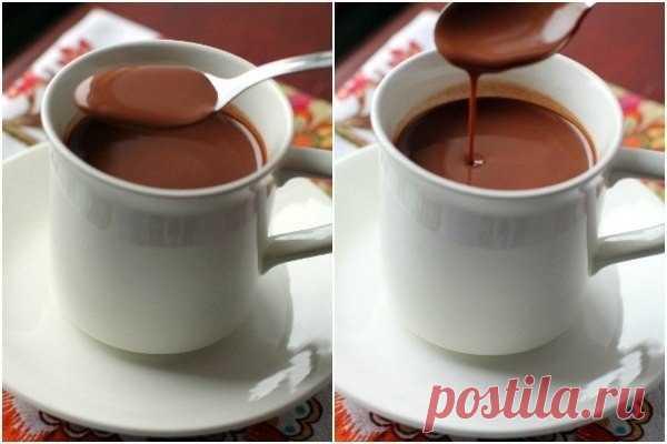 Как приготовить испанский горячий шоколад.  - рецепт, ингредиенты и фотографии