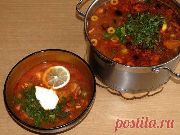 Сборная солянка от моей бабули Пелагеи | Любимые рецепты