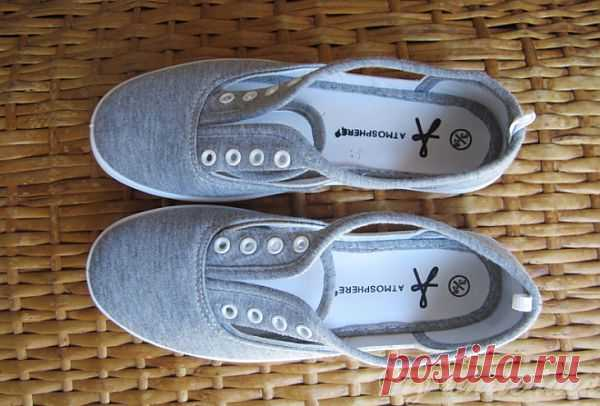 Забавные кеды из прорезей (Diy) / Обувь / Модный сайт о стильной переделке одежды и интерьера