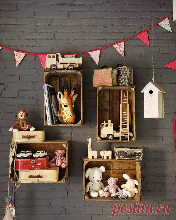 We decorate the nursery with bright details