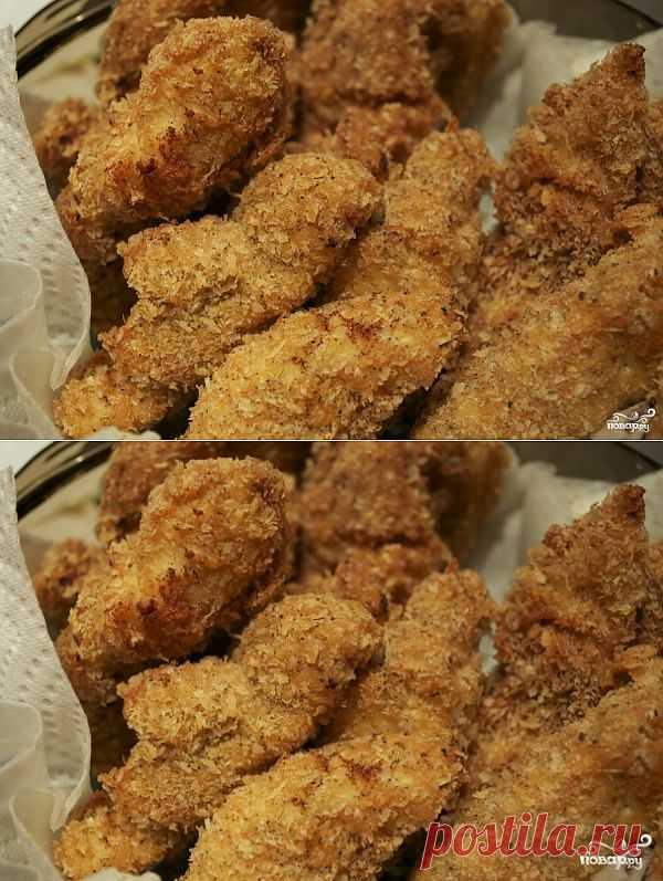 """Куриные """"Кацу"""" - это японское блюдо, представляющее собой очень вкусное обжаренное в яйце и панировочных сухарях куриное филе. Приготовить его под силу каждому - особенно с простым пошаговым рецептом."""