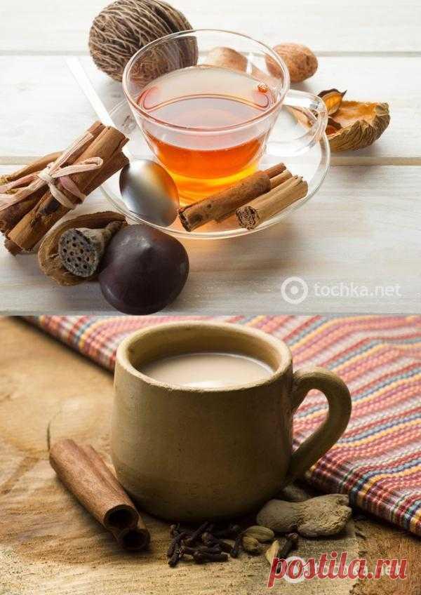 El té masala con el chocolate