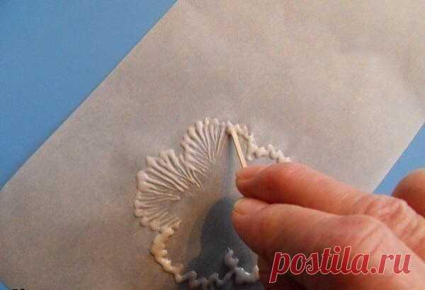 Утонченная идея для декора торта: тонкая грань рукоделия и кулинария — Сделай сам, идеи для творчества - DIY Ideas