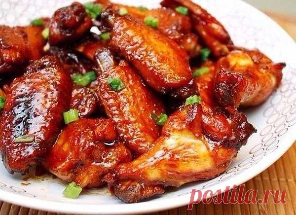 Крылья в медовом соусе: 7 пикантных рецептов