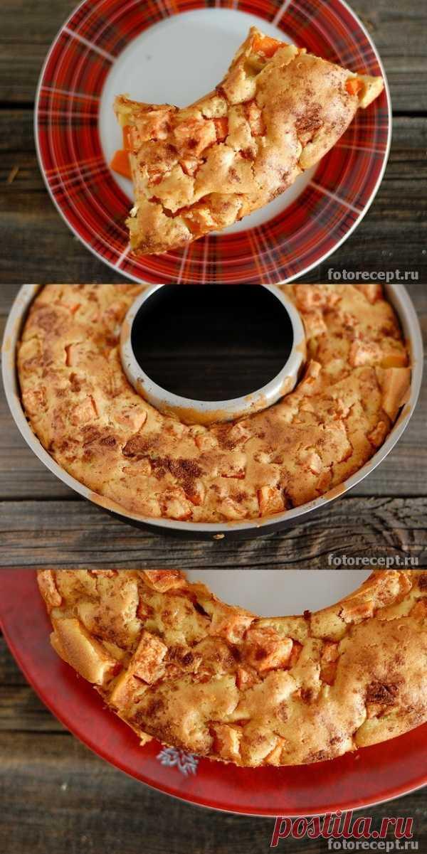 Кекс с оранжевой тыквой (для получения рецепта нажмите 2 раза на картинку)