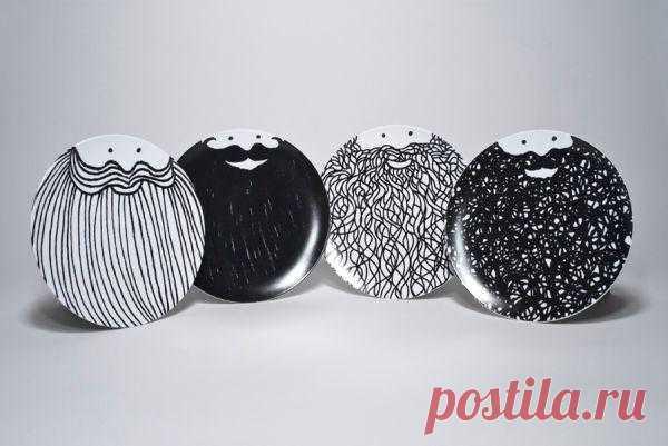 Бородатые тарелки Phil Jones (подборка) / Сервировка стола / Модный сайт о стильной переделке одежды и интерьера