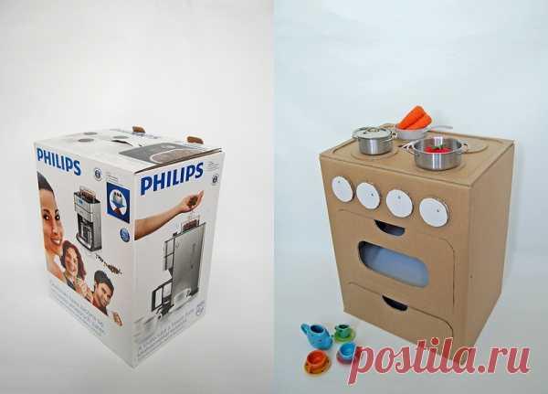 Идея детской кухонной плиты. (Описание по клику на картинку).