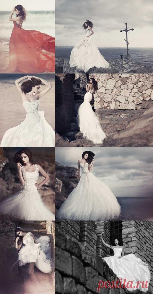Прекрасные свадебные платья от Julia Kontogruni