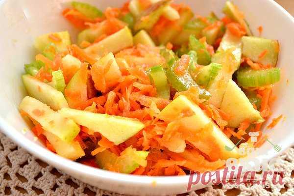 Рецепт жиросжигающего салата №29: Богатый витаминами салат с яблоком и морковью | Похудение и стройная фигура | Яндекс Дзен