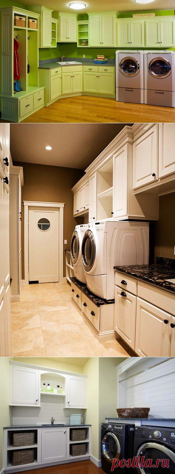 Прачечный уголок в доме — Pro ремонт
