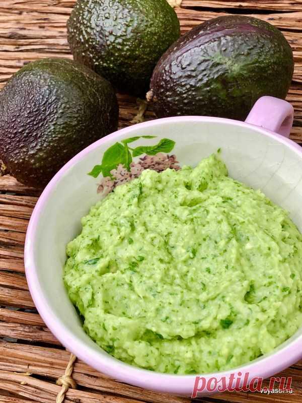 Венесуэльский соус из авокадо – Вся Соль - кулинарный блог Ольги Баклановой