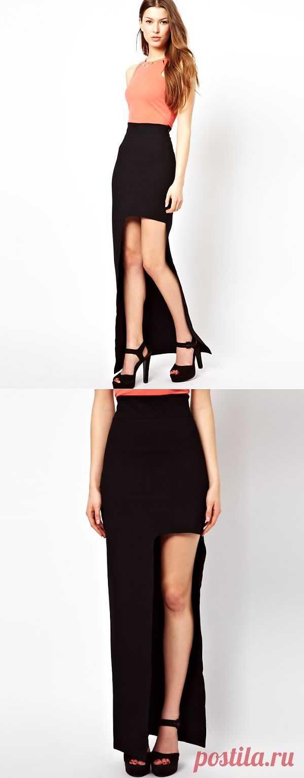 Прямоугольная асимметрия подола / Тенденции / Модный сайт о стильной переделке одежды и интерьера