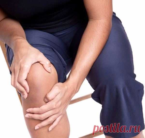 Folk remedies from knee pain