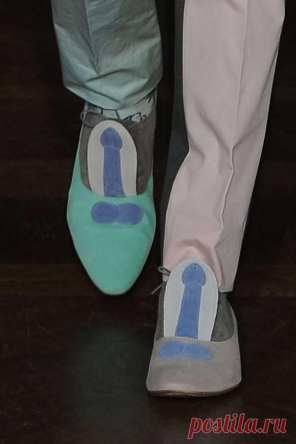 Мужские туфли Walter Van Beirendonck / Креатив в моде / Модный сайт о стильной переделке одежды и интерьера