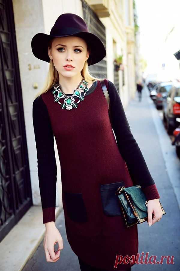 Кожаные карманы / Платья Diy / Модный сайт о стильной переделке одежды и интерьера