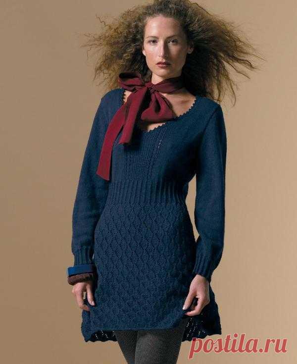 Вязание платья Vali от Sarah Hatton.
