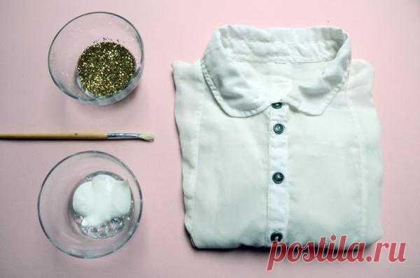 Украшаем блузку