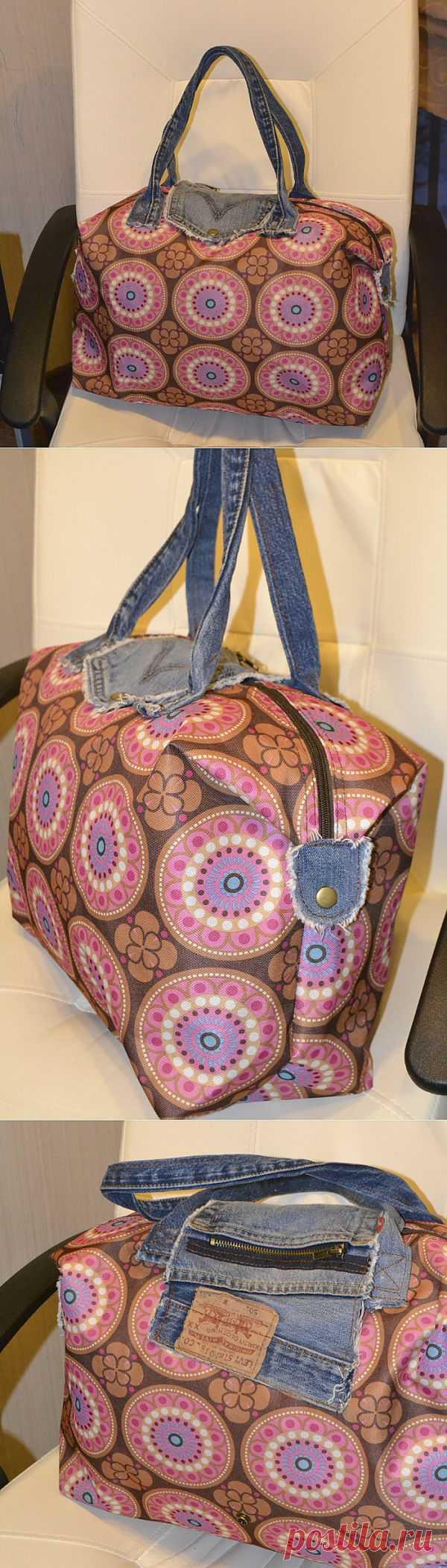 Ремонт сумки старыми джинсами / Сумки, клатчи, чемоданы / Модный сайт о стильной переделке одежды и интерьера