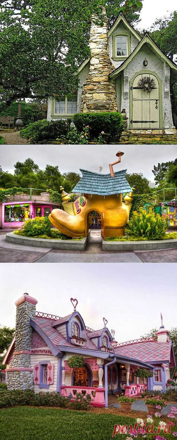 Fairy Tales Houses in Real World (46 pics) - Izismile.com