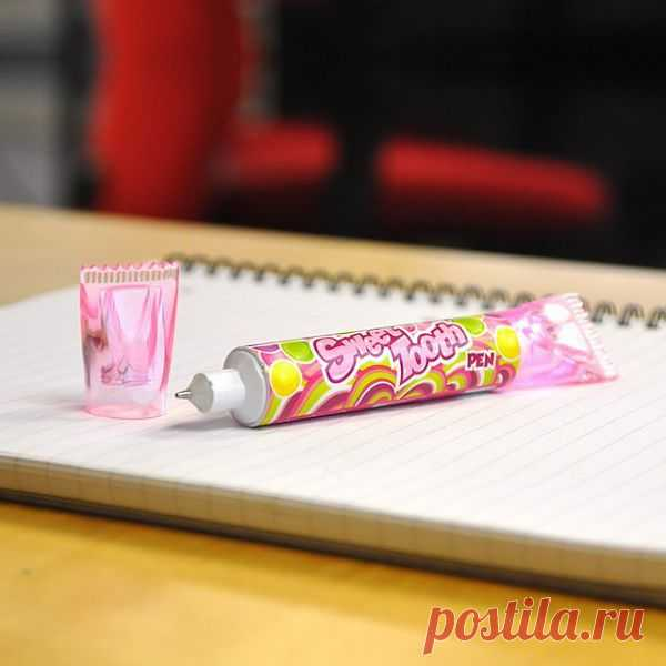 "Ручка - ""тюбик"" - $6 USD"