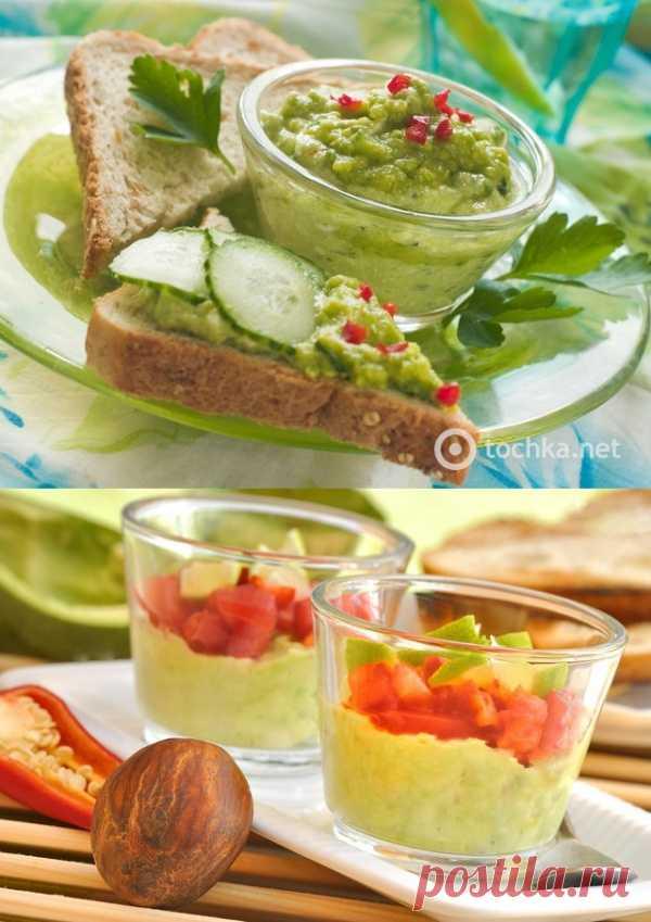 Постная мексиканская закуска из авокадо