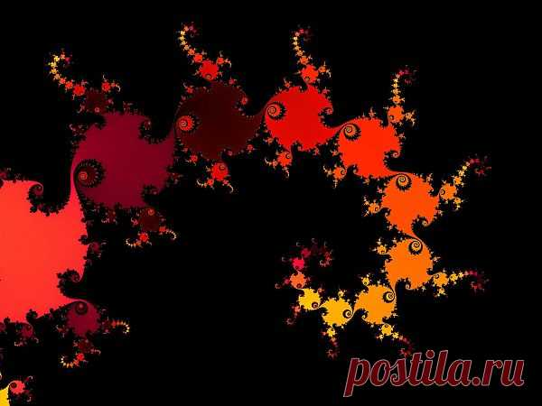 Red Fractal Spiral  Free Stock Photo HD - Public Domain Pictures