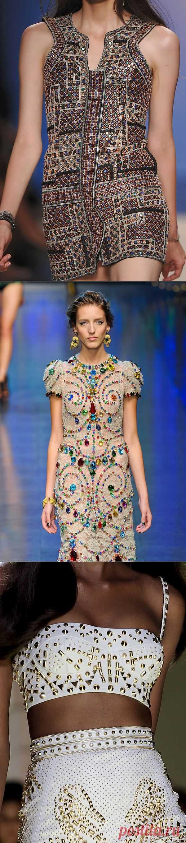 Декор одежды камнями (подборка) / Декор / Модный сайт о стильной переделке одежды и интерьера