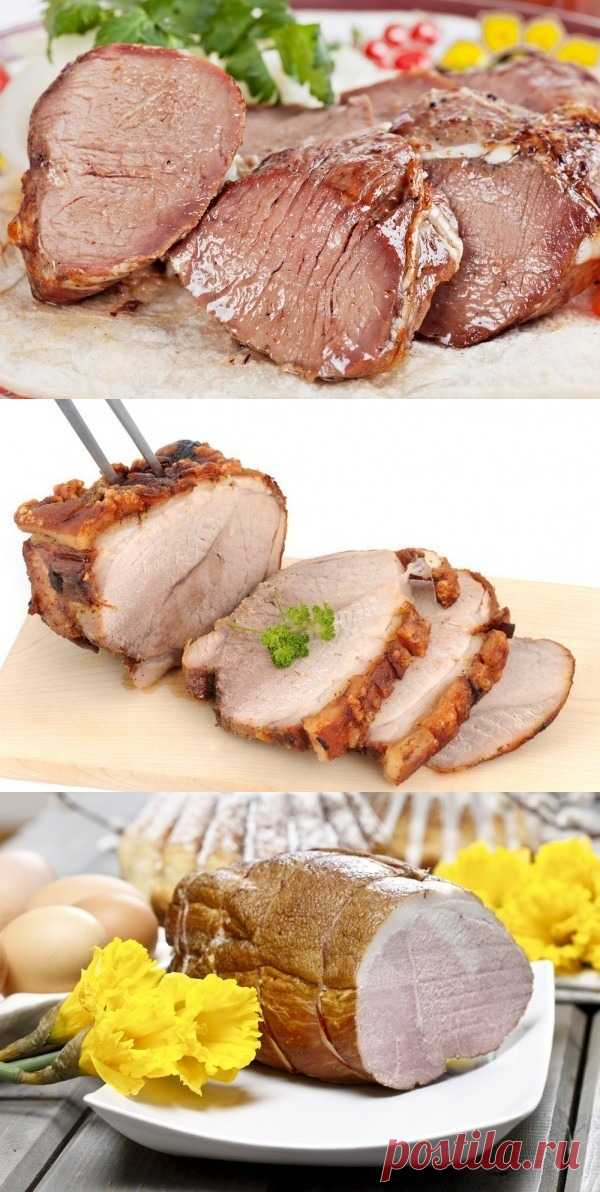 Пасхальные блюда: ТОП-3 рецепта буженины