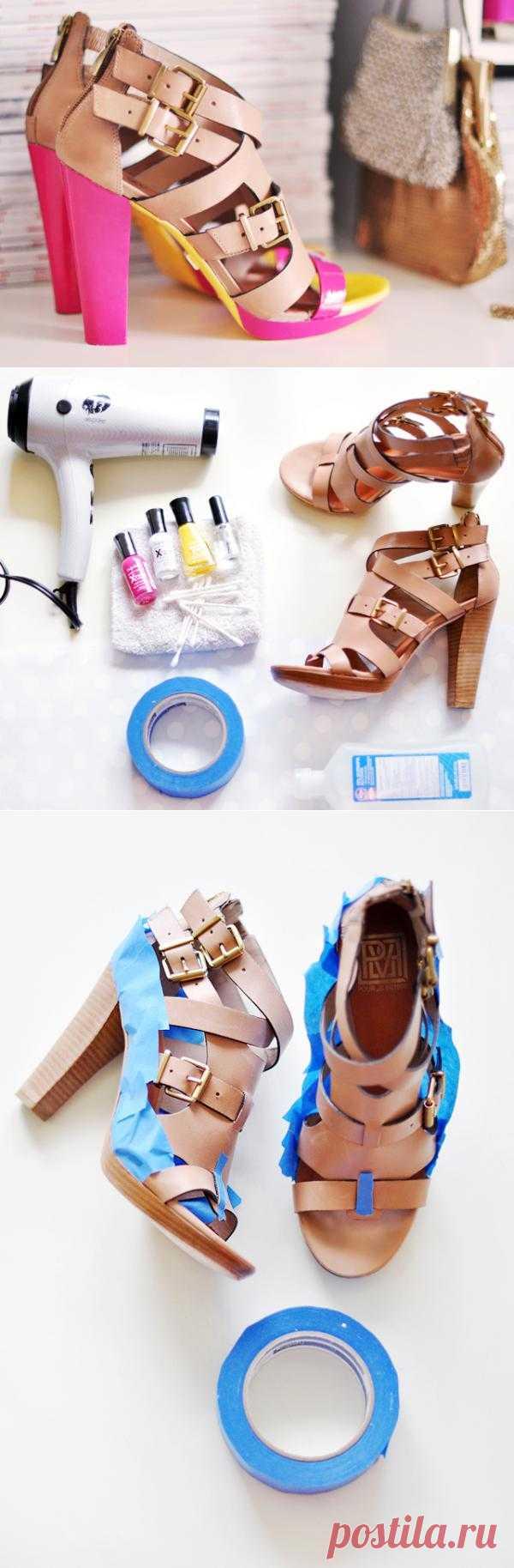 Добавляем туфлям изюминку