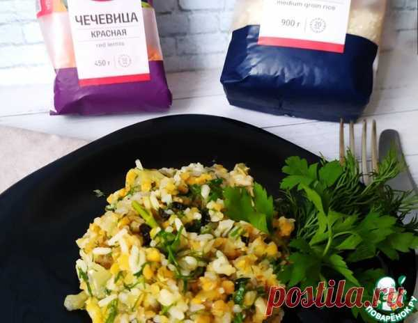 Плов из риса и чечевицы | Вкусные кулинарные рецепты