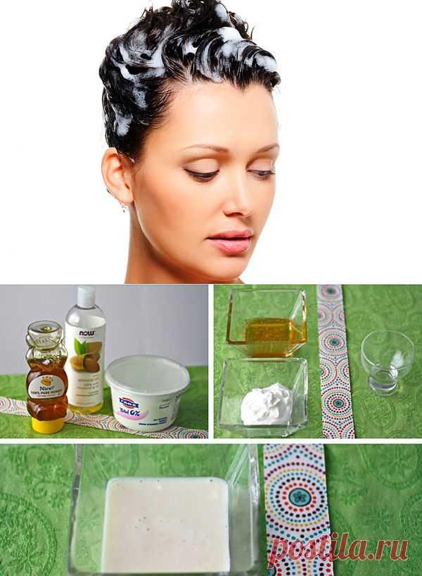 Увлажняющая маска для волос своими руками – бюджетный вариант   Господарка.Ru