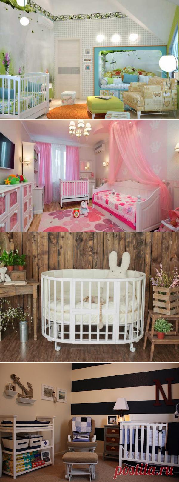 Детская комната для новорожденного ребенка: что важно знать