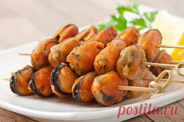 Шашлычки из мидий - Рецепты. Кулинарные рецепты блюд с фото - рецепты салатов, первые и вторые блюда, рецепты выпечки, десерты и закуски - IVONA - bigmir)net - IVONA