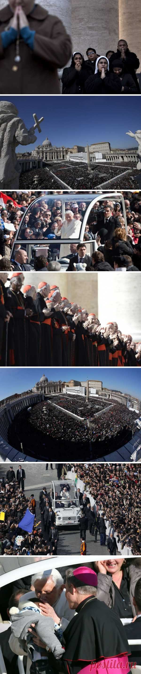 Последняя аудиенция Папы Бенедикта XVI, Ватикан