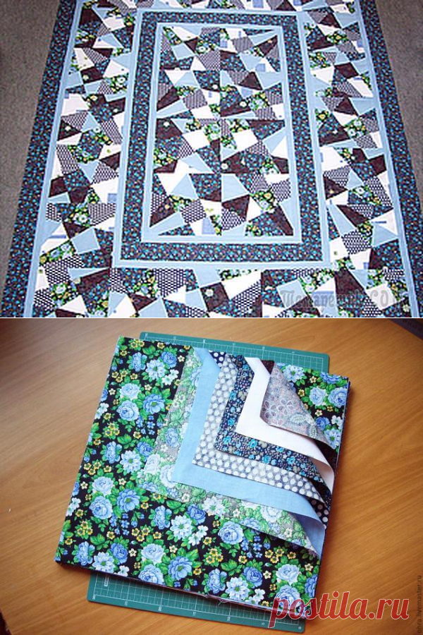 Лоскутное одеяло. Техника крейзи для начинающих