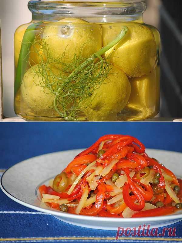 La cuisine tunisienne - Квасим лимоны!? А в заключении самый простой тунисский рецепт. Автор: eryv