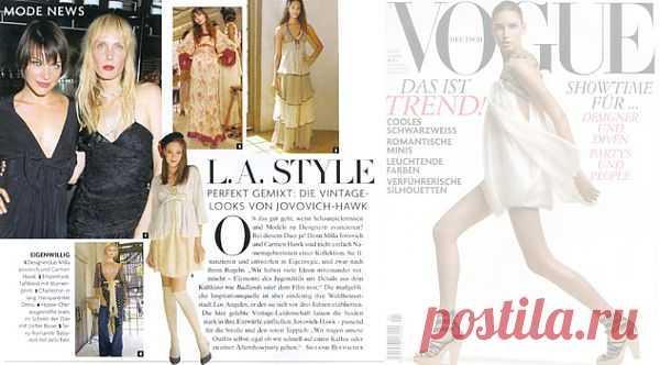Сайт Йовович-Хоук / Дизайнеры / Модный сайт о стильной переделке одежды и интерьера