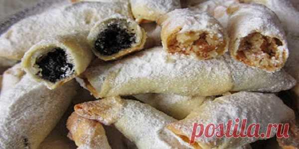 Обалденные рогалики — тончайшее, хрустящее тесто и много сладкой вкусной начинки! – В Курсе Жизни